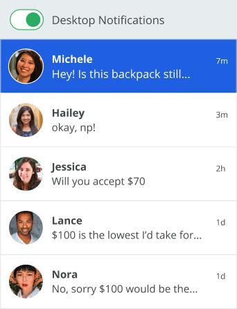 sellers inbox