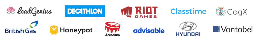 talkjs customer logos