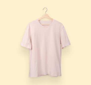 salmon pink tshirt